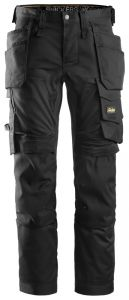 Snickers 6241 AllroundWork Stretch Trousers - Black