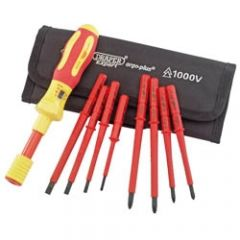 Draper Expert 9 Piece VDE Interchangeable Set