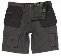 Apache Shorts with Holster Pockets - Grey/Black