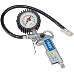 Draper Air Inflator with Dial Gauge