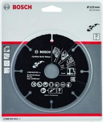 Bosch 2068623012 Carbide Multicut Wheel 115x1x22.23mm