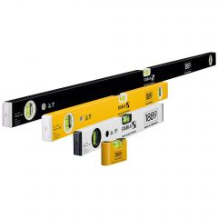 Stabila 1889 Edition Level Set 120//60/40cm & Pocket