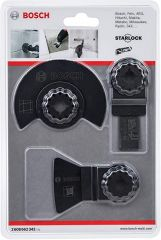 Bosch 2608662342 3pc Multitool Tiling Set