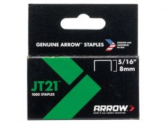 Arrow JT21 Staples - Various Sizes