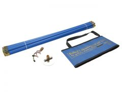 BAILEY 5430 DRAIN ROD SET IN A BLUE BAG