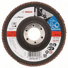 Bosch 115x22.23mm Steel/Inox Flap Disc - 40 grit