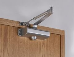 Union CE3F Door Closer CE - Silver