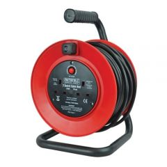 Faithfull FPPCR25M 240v Cable Reel - 25m 13a