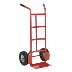 Sealey Sack Truck with Pneumatic Tyres - 200kg