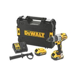 DeWalt DCD996P2 Heavy-Duty Brushless Combi Drill with 2 x 5ah Batteries