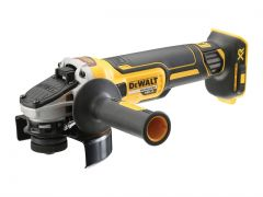 DeWalt DCG405N 18v Brushless 125mm Slim Angle Grinder - Body Only
