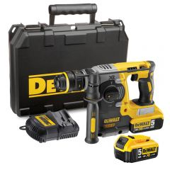 DeWalt DCH273P2 Brushless 18v SDS Drill 2x5ah Batteries & Case