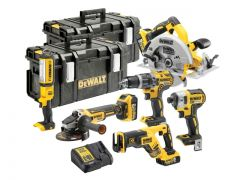 DeWalt DCK623P3 Compact Brushless 18v 6-Piece Kit: 3x5ah