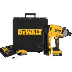DeWalt DCN890P2 Brushless 18v Concrete Nailer - 2x 5ah Batteries