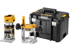 DeWalt DCW604NT 18v Twin Base Router/Trimmer Bare unit