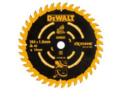 DeWalt Saw Blade for Cordless Mitre Saws 184 x 16mm x 40T