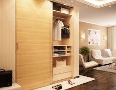 Double Top Wardrobe Twin Sliding Door Kit