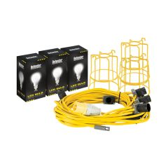 Defender E89811 22m LED Festoon Kit 110v