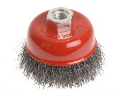 Faithfull WIRE CUP BRUSH 60 X M14X2        0.30MM