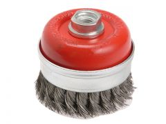 Faithfull WIRE CUP BRUSH T/KNOT 65XM14X2    0.5MM
