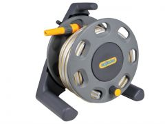 Hozelock 2412 Compact Hose Reel 25m + Water Fittings