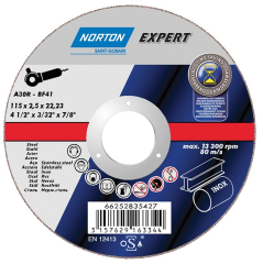 Norton Expert Metal Cutting Discs