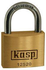 C.K. Kasp 125 Premium Brass Padlocks - Standard Shackle