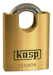 C.K. Kasp 125 Premium Brass Padlocks - Closed Shackle