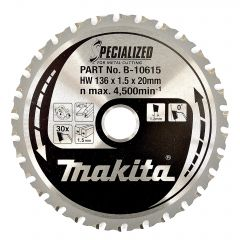 Makita Metal Cutting Circular Saw Blade 136x20mm