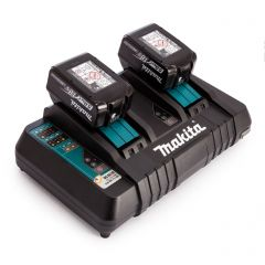 Makita 2x 5ah Batteries & Dual Charger Add-On