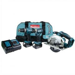 Makita DLX3018SMX 3 Piece 18v Cordless Kit