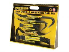 Gorilla Wrecking Bar 5pc Set