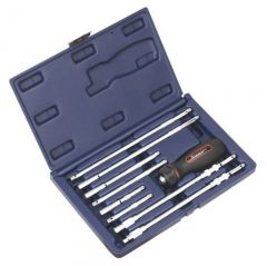Sealey 9 Piece Ratchet Driver & Accessory Set