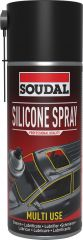 Soudal Silicone Spray Lubricant 400ml
