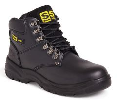 Sterling Steel Black Safety Boot