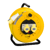 Thorsman 110v Cable Reel - 40m 16a