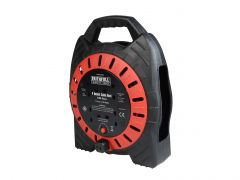 Faithfull Cable reel 240v 10m 13Amp 4 Sockets